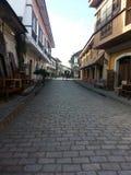 calle crisologo vigan城市 免版税图库摄影