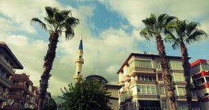 Calle de Alanya Imagenes de archivo