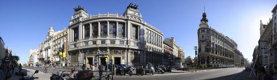 Calle de Alcala, Spain Royalty Free Stock Photos