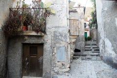 Calle de Amantea Foto de archivo libre de regalías