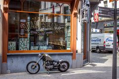 Calle de Amberes Imagen de archivo