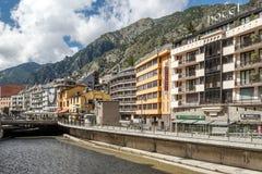 Calle de Andorra Imagenes de archivo