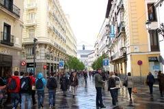 Calle de Arenal Royalty Free Stock Photography