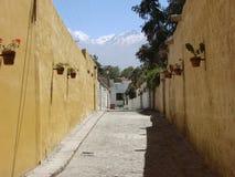 Calle de Arequipa Imagen de archivo libre de regalías