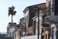Calle de Athen Imágenes de archivo libres de regalías
