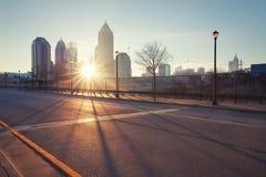 Calle de Atlanta Imagen de archivo libre de regalías