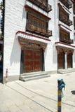 Calle de Baigu de Lasa imagen de archivo