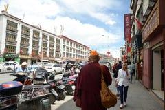 Calle de Baigu de Lasa imágenes de archivo libres de regalías