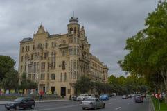 Calle de Baku Foto de archivo libre de regalías