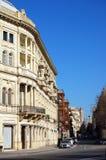 Calle de Baku fotografía de archivo libre de regalías