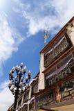 Calle de Barkhor, Lhasa Foto de archivo libre de regalías