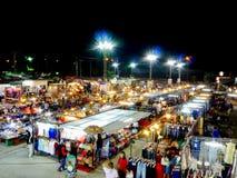 Calle de Barzaar de la noche shppping Fotos de archivo
