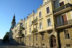 Calle de Belgrado foto de archivo libre de regalías