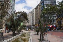 Calle de Bogotá, Colombia Imagenes de archivo