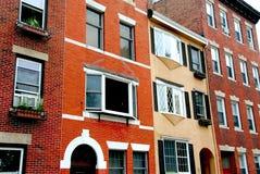 Calle de Boston fotos de archivo