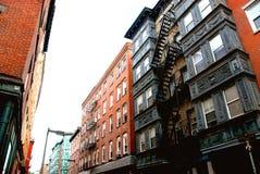 Calle de Boston Foto de archivo