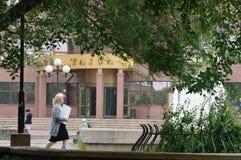 Calle de Bratsk Imágenes de archivo libres de regalías