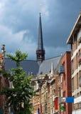 Calle de Bruselas Foto de archivo libre de regalías