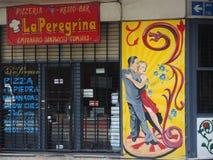 Calle de Buenos Aires. Fotos de archivo libres de regalías