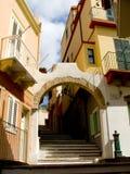 Calle de Carloforte Fotografía de archivo