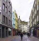 Calle de Carnaby, Londres, Inglaterra Imagen de archivo libre de regalías