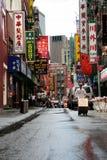 Calle de Chinatown Fotografía de archivo