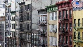 Calle de Chinatown en NYC foto de archivo