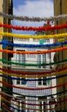 Calle de Colorfull Imagenes de archivo