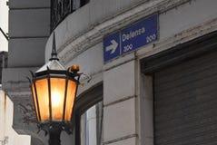 Calle de Defensa Imagen de archivo