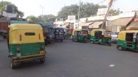 Calle de Delhi fotografía de archivo libre de regalías