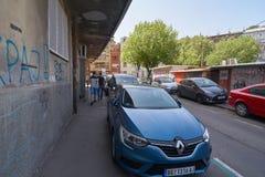 Calle de Dorda Jovanovica Foto de archivo