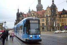 Calle de Dresden Imagen de archivo libre de regalías