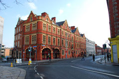 Calle de Dublín foto de archivo libre de regalías