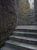 Calle de escaleras Fotografía de archivo