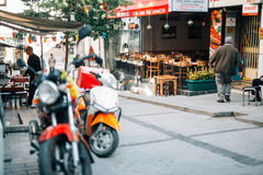 Calle de Estambul imagen de archivo libre de regalías