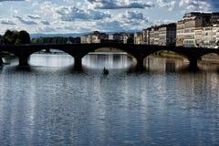 Calle de Florencia II Fotografía de archivo libre de regalías