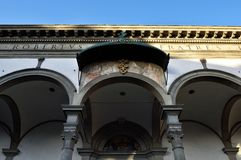 Calle de Florencia XXV Imagen de archivo libre de regalías