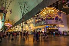 Calle de Fremont en Las Vegas, Nevada fotografía de archivo libre de regalías