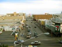 Calle de Fremont, Las Vegas, Nevada, los E.E.U.U. foto de archivo libre de regalías