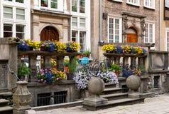 Calle de Gdansk Mariacka fotos de archivo