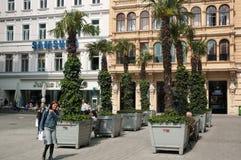 Calle de Graben, Viena imagen de archivo libre de regalías