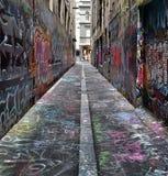 Calle de Graphiti fotografía de archivo libre de regalías