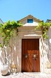Calle de Grecia Imagenes de archivo
