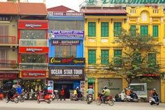Calle de Hanoi Imagen de archivo libre de regalías