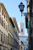Calle de Italia - de Florencia foto de archivo libre de regalías