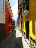 Calle de Jaén en La Paz, Bolivia Fotos de archivo libres de regalías