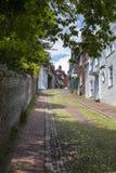 Calle de Keere en Lewes, Sussex del este Foto de archivo