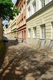 Calle de Kozia en Varsovia, Polonia imagen de archivo libre de regalías