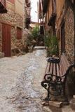 Calle de la aldea Imagen de archivo libre de regalías