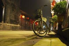 Calle de la aldea, China Imagen de archivo